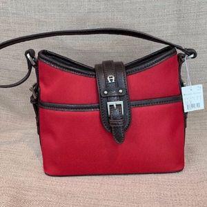 🌹Etienne Aigner Red Shoulder Mini Bag NWT